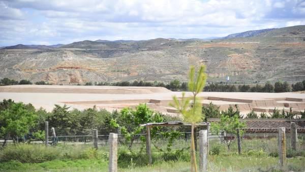Terrenos donde se levantará el Hospital de Teruel