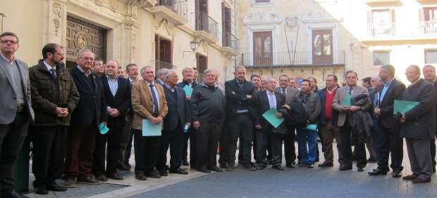 Los integrantes del Círculo por el Agua, posan tras su constitución