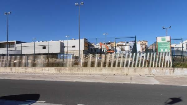 Arranca la demolición de la escuela de hostelería.