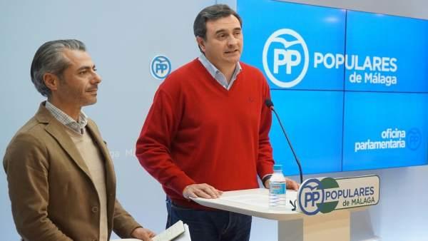 Np, Foto Y Audios Pp Málaga. El Pp Define El Plan Pista Como El Funeral Del Tran