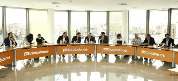 Reunión de la Ejecutiva Nacional de Ciudadanos