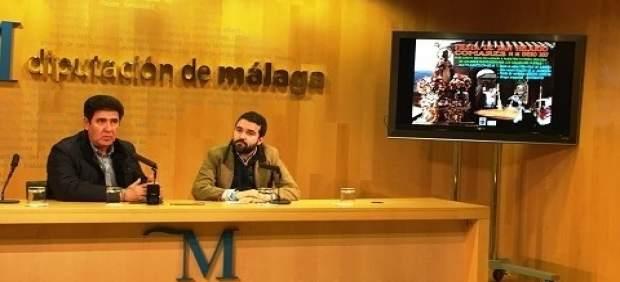 Jacobo Florido y Manuel Robles en el acto de presentación.