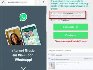 Estafa en Whatsapp