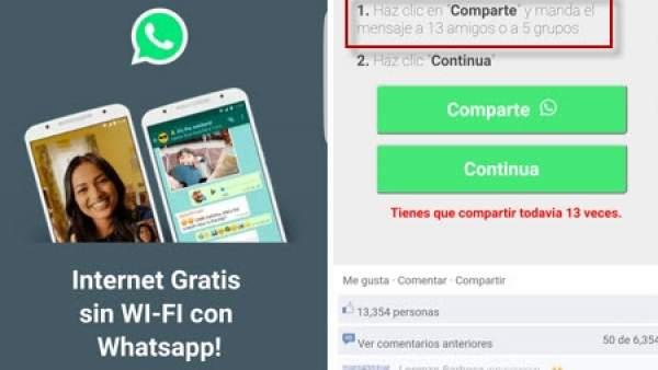 La última estafa de Whatsapp se aprovecha de inexpertos y curiosos