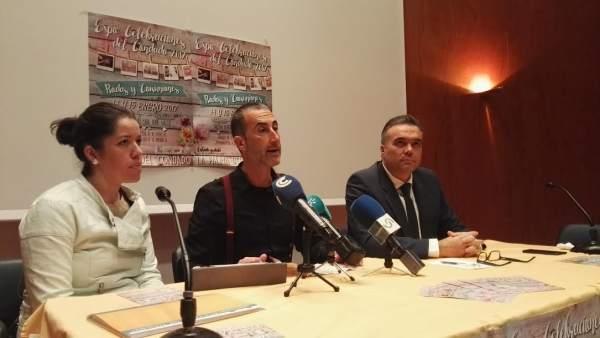 Presentación de Expo Celebraciones en La Palma del Condado.