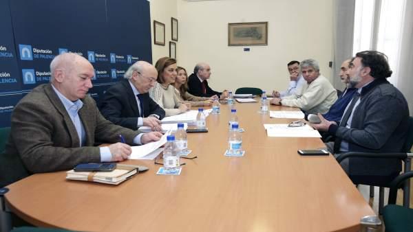 Reunión del Patronato de la Fundación de La Olmeda