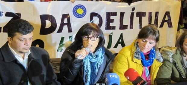 Begoña Huarte, activista detenida en Grecia al intentar cruzar con 8 refugiados