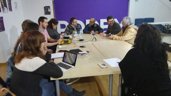 Consejo Ciudadano de Podemos tras la reunión con los partidos del Pacto