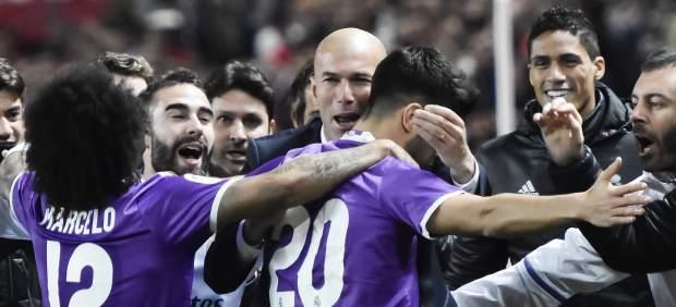 Gol de Asensio con el Madrid