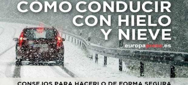 Cómo conducir con hielo y nieve