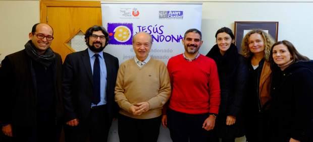Firma Del Acuerdo Entre Los Responsables De Jesús Abandonado Y Randstad