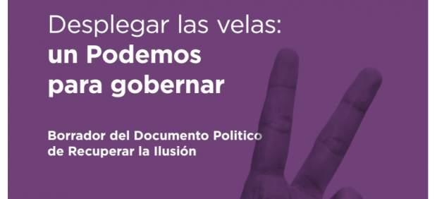 Borrador del documento que presentará Íñigo Errejón en Vistalegre 2