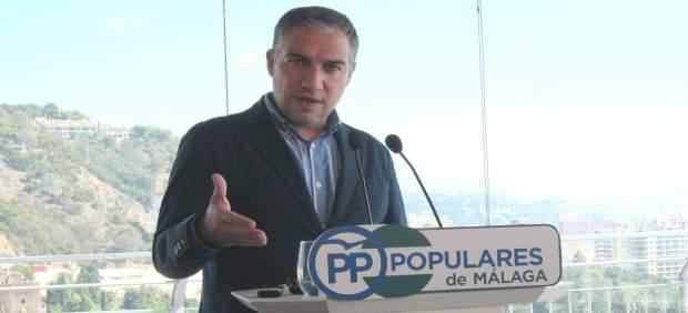Elías Bendodo, portavoz PP-A