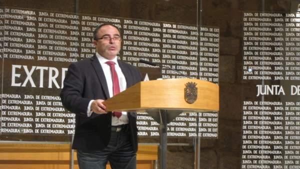 Francisco Martín, en rueda de prensa