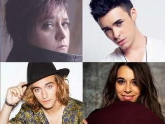 Candidatos a Eurovisión