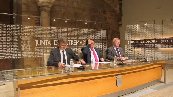 Vergeles, Ceciliano Franco y Vicente Alonso