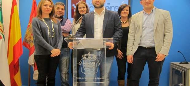 Balance del PSOE en el Ayuntamiento de Cáceres