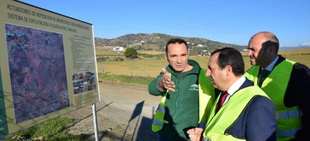 Ruiz Esoejo obra de emergencia afectados último temporal málaga cauces hidráulic