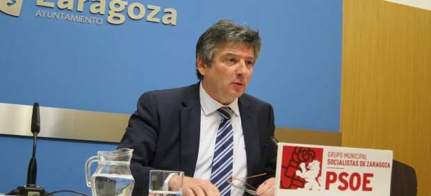 Javier Trívez, concejal del PSOE