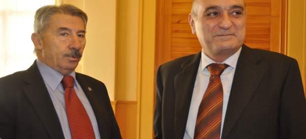 Aurelio López de Hita (CEPYME Aragón) y Fernando Callizo (CREA).