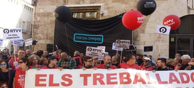 """Oltra desvincula la """"defensa tècnica"""" de l'Advocacia en el juí de l'ERO de RTVV amb la """"posició política"""" del Consell"""