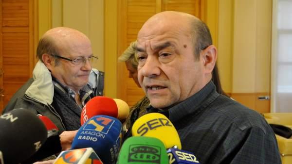 El secretario general de UGT Aragón, Daniel Alastuey.