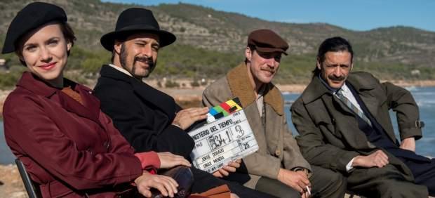 Peníscola viatja a la II Guerra Mundial amb el rodatge d''El Ministerio del Tiempo'