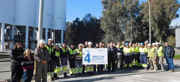 La plantilla de Cosmos en Córdoba celebra cuatro años sin accidentes