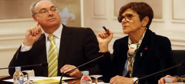 Rosa Peñalver, durante su intervención en la COPREPA