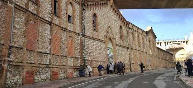 Fachada del antiguo asilo de Teruel