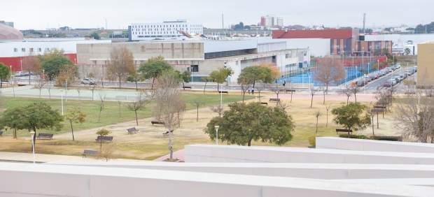 Vista general de la Universidad de Huelva
