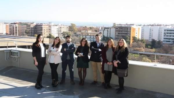 Nueva junta directiva de la Agrupación de Abogados Jóvenes
