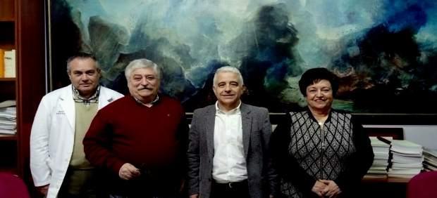 El diputado autonómico de C's Juan Antonio Funes, en Motril