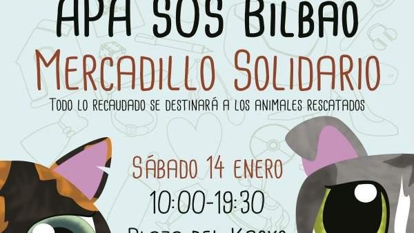 Cartel del rastrillo solidario
