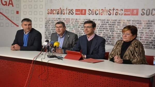 Cristobal Fernández y Antonio Yuste en rueda de prensa.