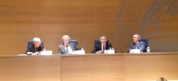 Grande-Marlaska durante la conferencia