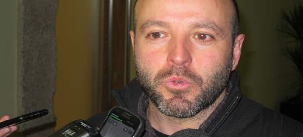 El portavoz parlamentario de En Marea, Luís Villares, en declaraciones
