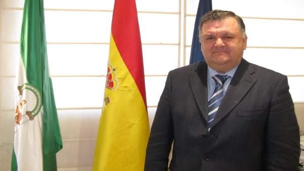 El delegado de Agricultura, Pesca y Desarrollo Rural, Francisco Zurera