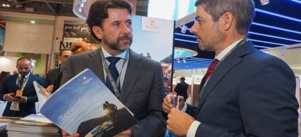 Carlos Alonso y Alberto Bernabé en la WTM