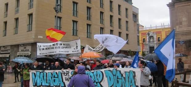 Marcha sanidad digna Málaga 27 noviembre