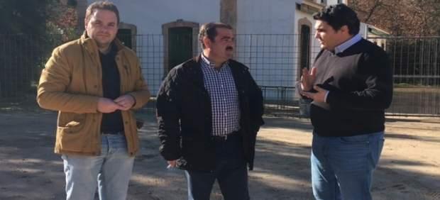 Visita del diputado José Castro a Marmolejo