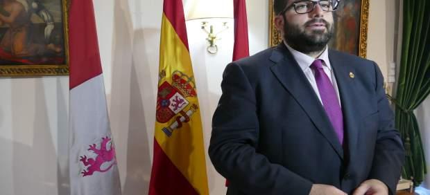 El presidente de la Diputación de Ávila