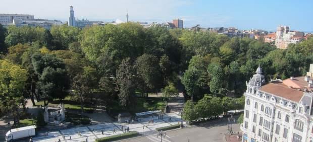 Campo San Francisco, Plaza Escandalera, Uría
