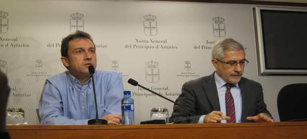 Ovidio Zapico y Gaspar Llamazares