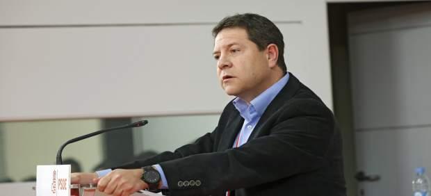 Page en el Comité del PSOE