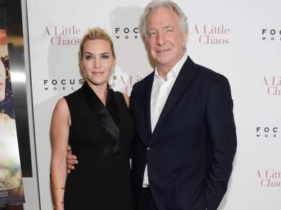 Kate Winslet y Alan Rickman