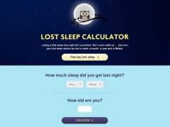 La web que te cuenta si tienes falta de sueño