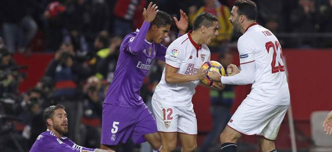 Sevilla vs Rea Madrid