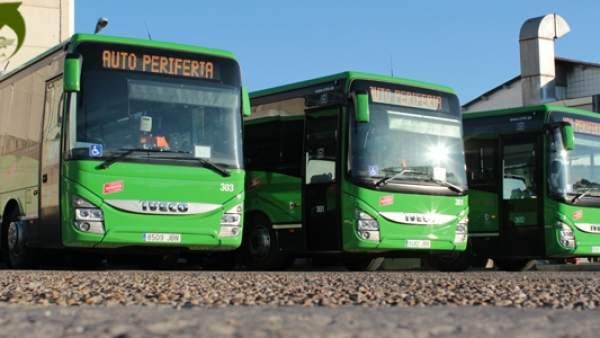 Un autobús de la empresa Auto Periferia Madrid