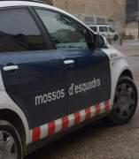 Un coche de los Mossos